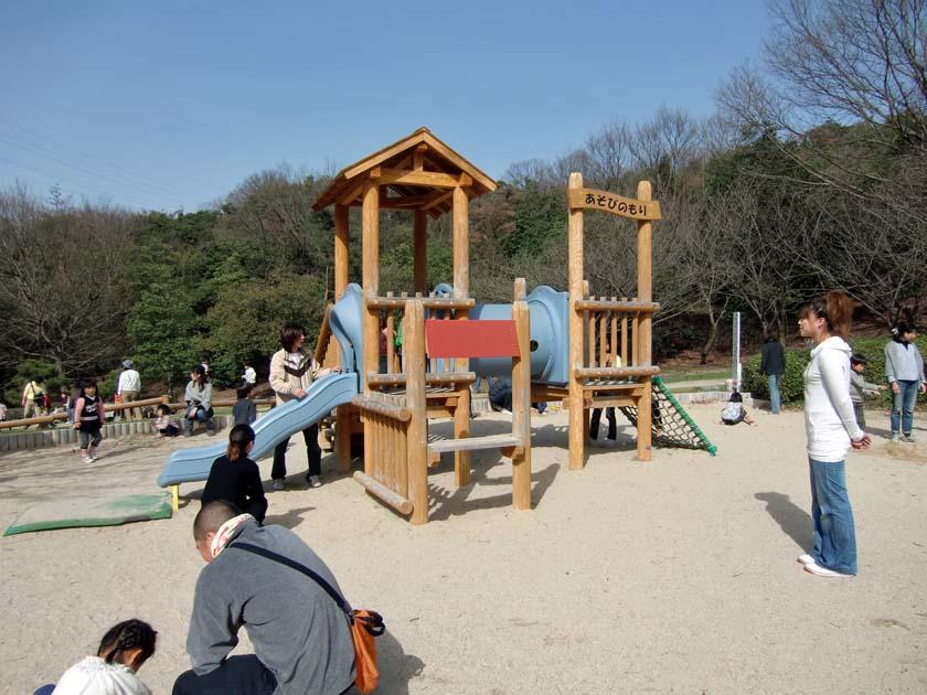 京都府立山城総合運動公園(太陽が丘) 幼児用遊具
