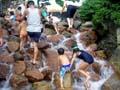 西猪名公園 滝と岩組ゾーン
