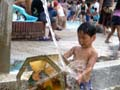 西猪名公園 水仕掛け遊具