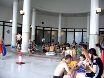 スパワールド 温泉