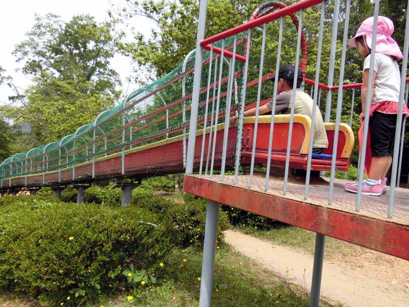 丹波自然運動公園 ジャイアントスライダー 滑り台