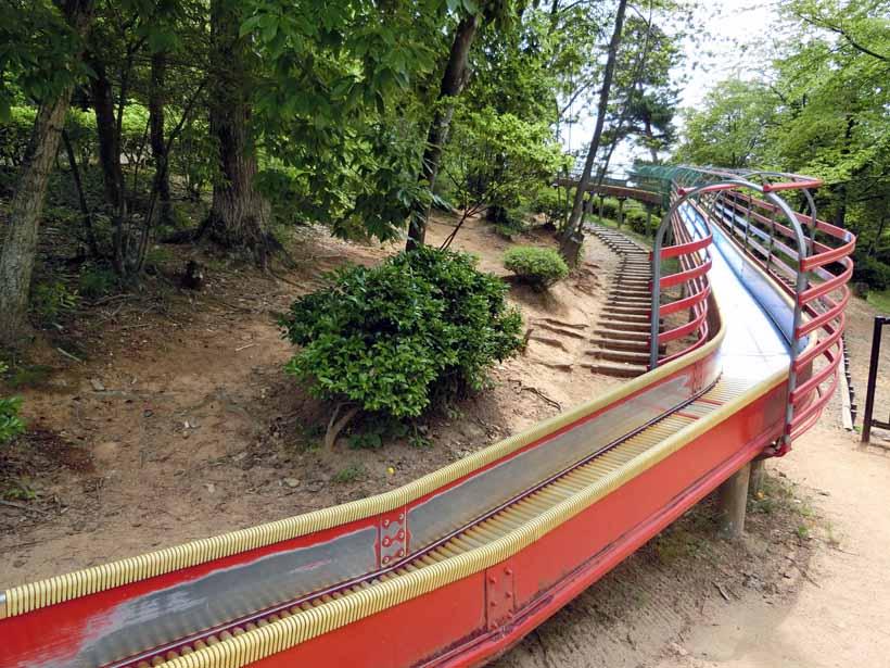 丹波自然運動公園 ローラーすべり台