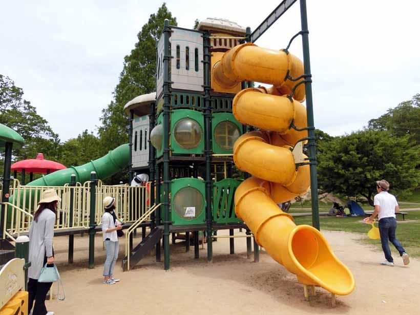 丹波自然公園 コンビネーション遊具