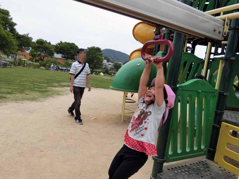 丹波自然公園 ゆらゆら橋 遊具