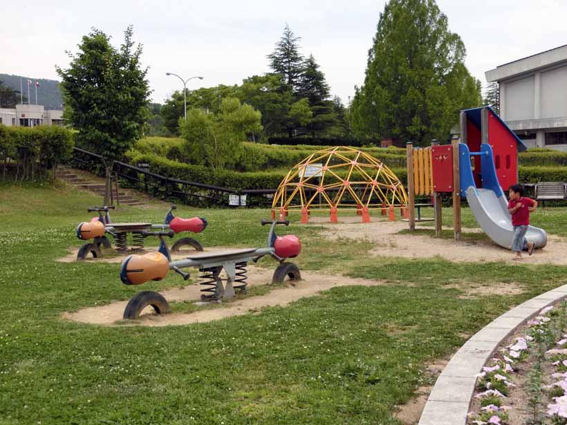 丹波自然運動公園 遊具