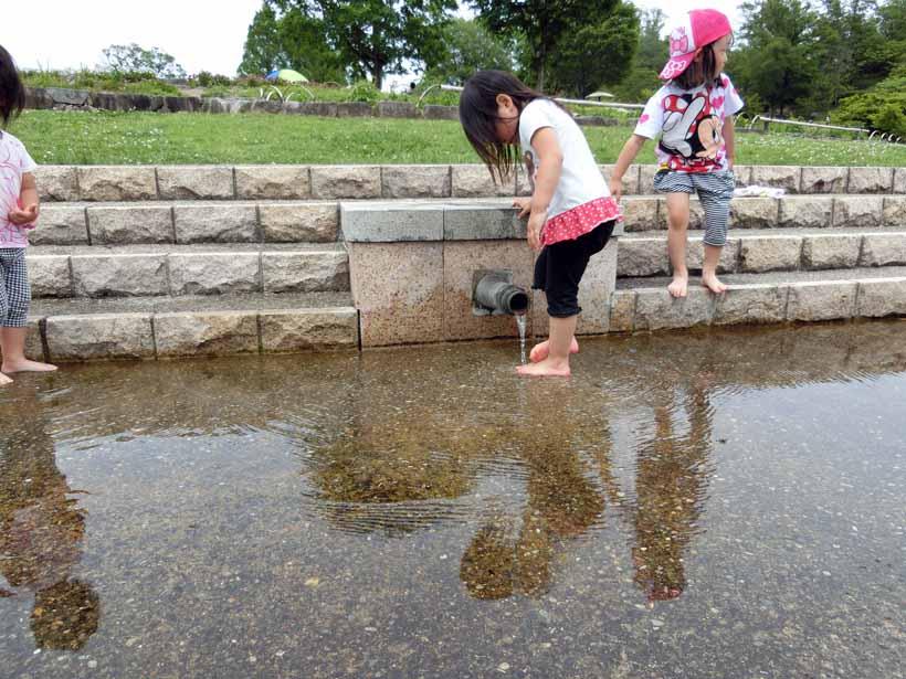 丹波自然運動公園 じゃぶじゃぶ池