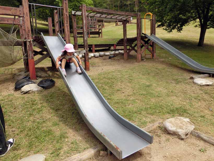 丹波自然公園 滑り台