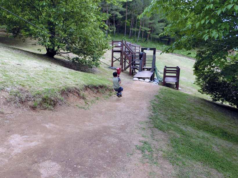 丹波自然公園 ターザンロープ