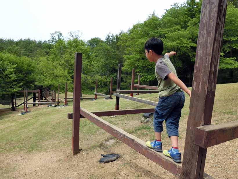 丹波自然公園 アスレチック遊具