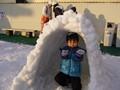 ひらパー 雪遊び