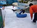 ひらパー 雪の滑り台