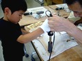 杓子 手作り体験