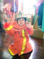 笹山チルドレンミュージアム 消防士 制服