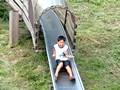長野県 戸隠 とんくるりん 滑り台