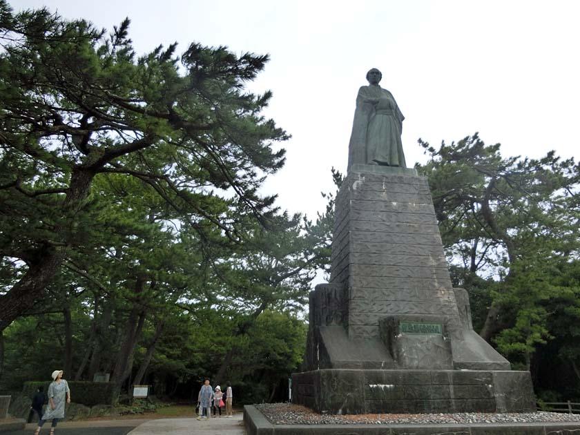 桂浜 坂本龍馬 銅像