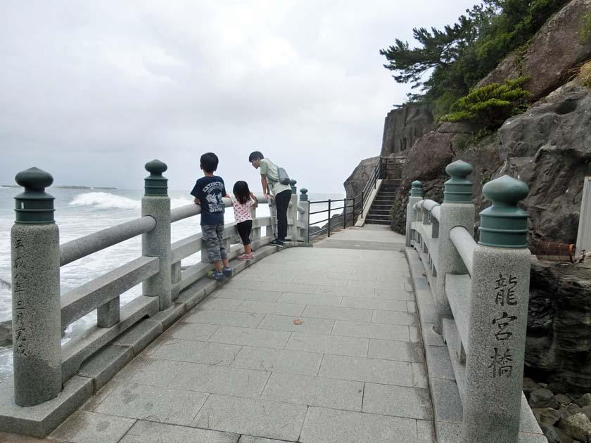 桂浜 坂本龍馬 龍宮橋
