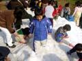 万博公園 雪まつり
