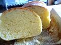 手作り食パン(レンジで簡単パン作り4 卵入り生地)