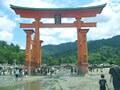 夏休み旅行:大鳥居・厳島神社・五重塔