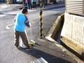 地域の溝掃除(ドブ掃除)