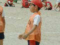 ドッジボール大会の練習大会
