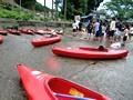 夏休みの帰省2 あさひまつり&カヌー教室