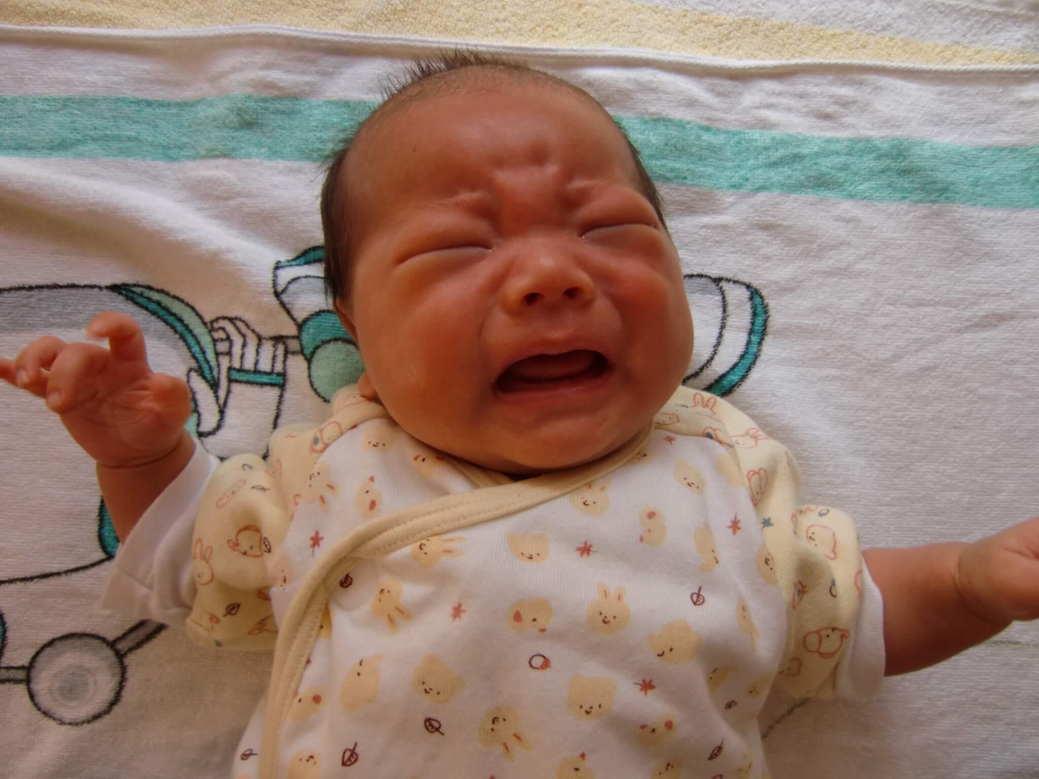 生後1ヶ月:夜寝ない!!