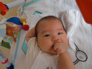 生後3ヶ月:3ヶ月目の成長記録