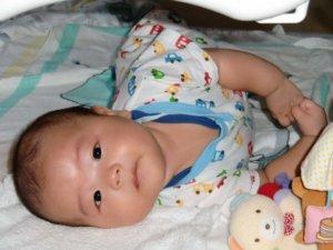 生後3ヶ月:首すわり