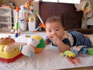 生後5ヶ月:歯が生えた!