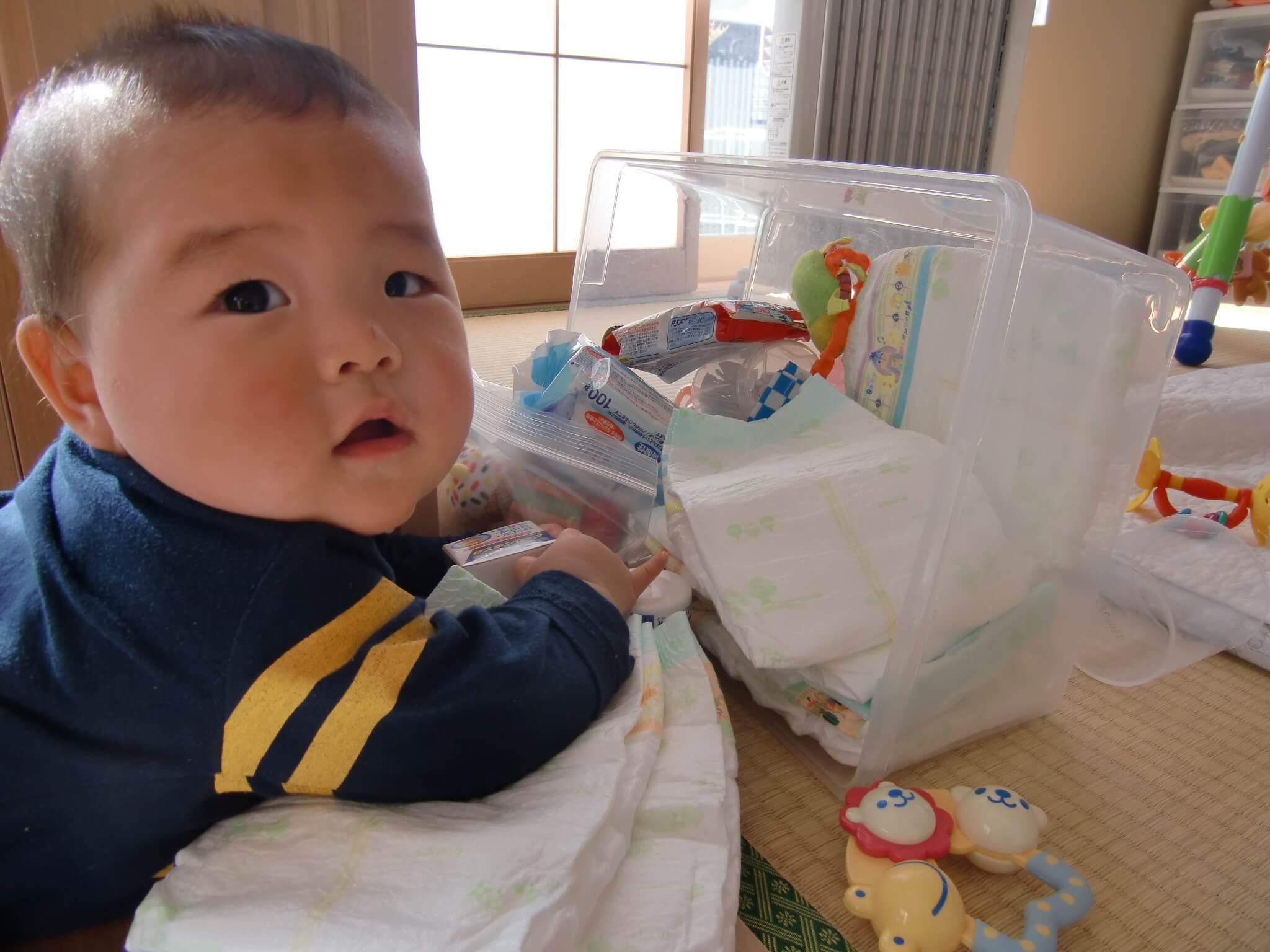 生後6ヶ月:夜泣き!?