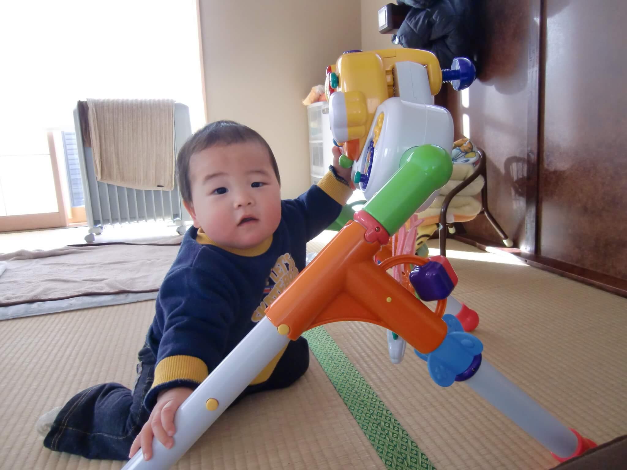 生後9ヶ月:9ヶ月目の成長記録
