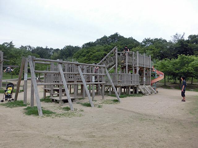 けいはんな記念公園 遊具&水遊び