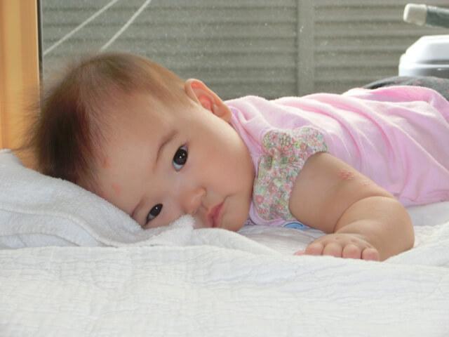 離乳食&夜泣き?スタート(生後7ヵ月)