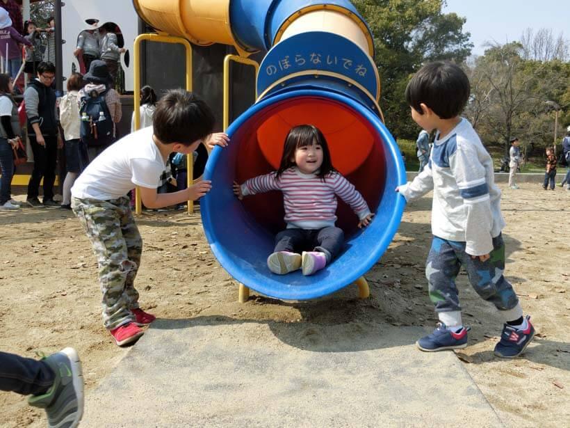 深北緑地公園の遊具を丸ごと全部遊んできたから紹介するよ
